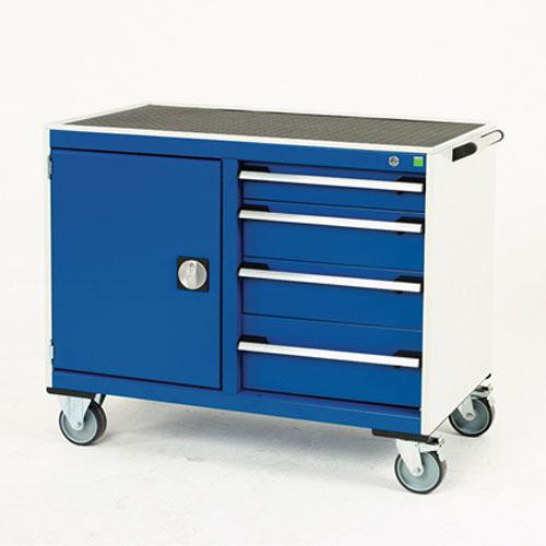 Bott Cubio Mobile Multi Drawer 50/50 Tool Storage Cupboard 890x1050mm