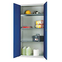 PPE Storage cupboard with 3 shelves