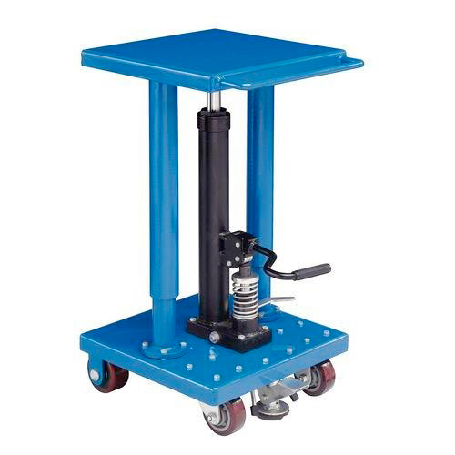 Mobile Hydraulic Column Lift Table - 225kg Capacity