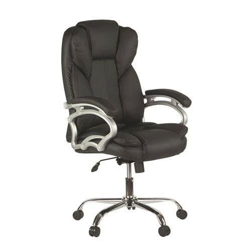 Medway High Back Leather Office Chair