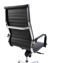 Swale High Back Leather Office Chair