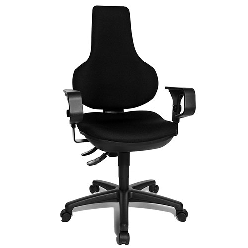 partridge ergonomic spine support chair with special interverteb