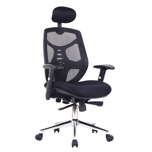 Polaris High Back Managers Chair With Headrest