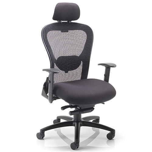 Galactic Mesh Back Office Chair with Headrest