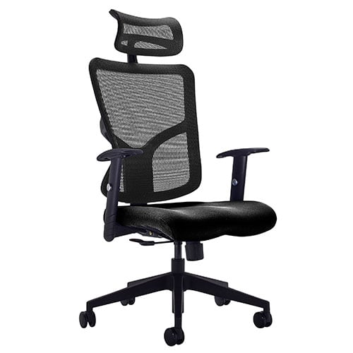 Fusion High Back Mesh Office Chair with Headrest