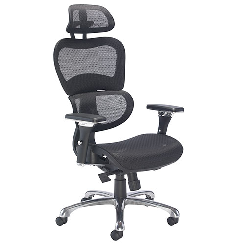 Moon High Back Mesh Office Chair with Headrest