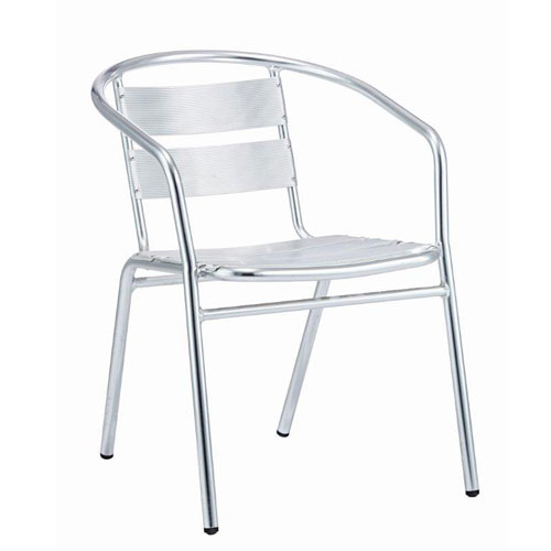 Aluminium Stacking Bistro Chair