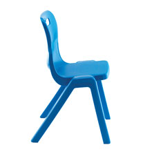 Blue One Piece Chair