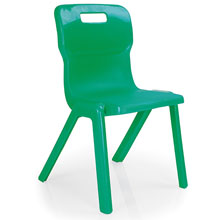 Green One Piece Chair