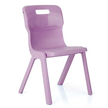 Purple One Piece Chair