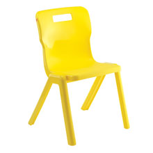 Yellow One Piece Chair