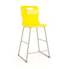 Yellow High Lab Chair