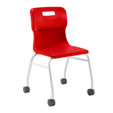 Red Move Chair
