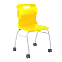 Yellow Move Chair