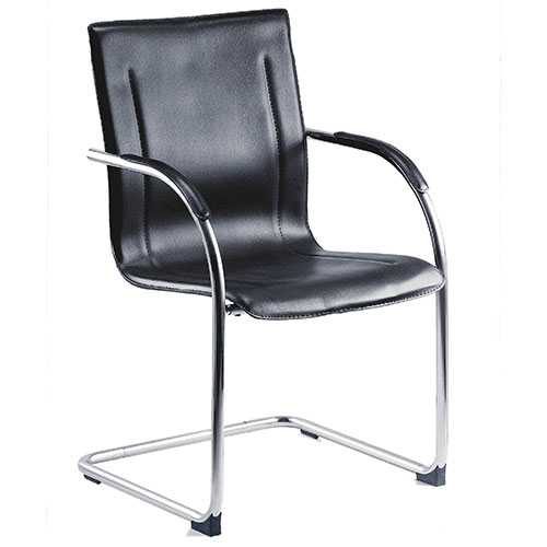 Windom Faux Leather Visitor Chair Pack of 5
