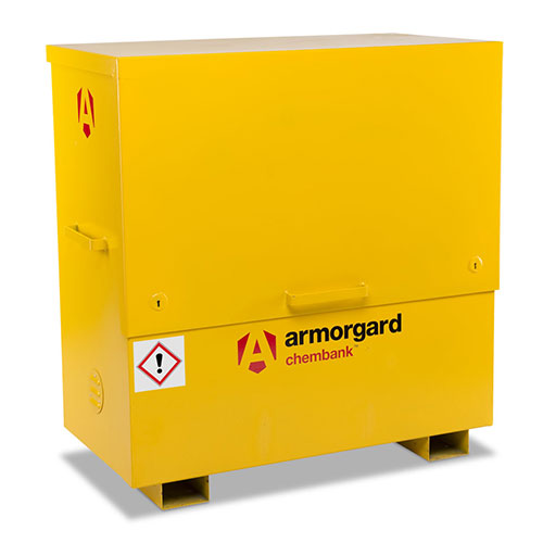 Armorgard Chembank COSHH Chemical Storage Chest 1270x1275x675mm