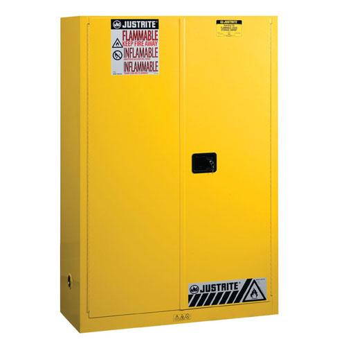 Justrite Medium Flammable Storage Cabinet - 1651x1092x457mm