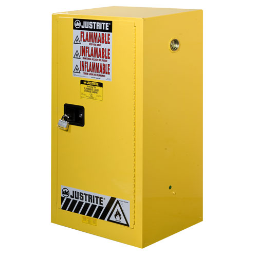 Justrite Compact Flammable Storage Cabinet