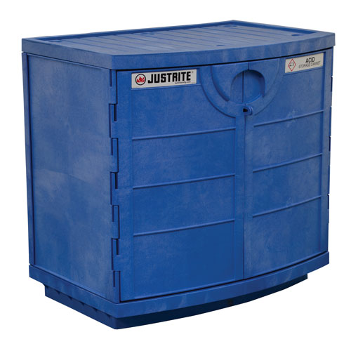 Justrite Under Counter Corrosive Chemical Storage Cabinet