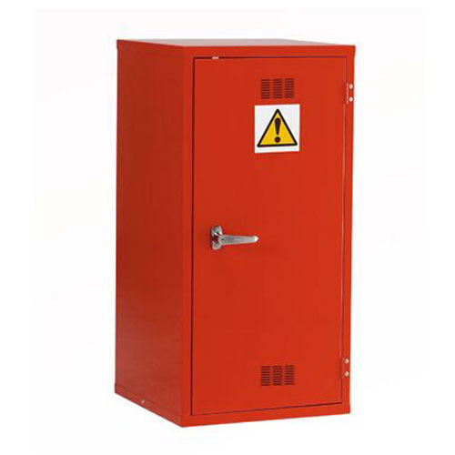 Red Flammable Material Storage Cabinet - 915x459mm