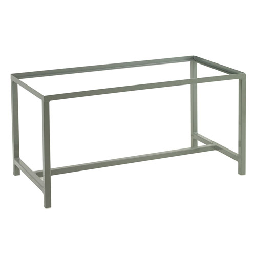 Grey Support Stand for Flammable Storage Cabinet