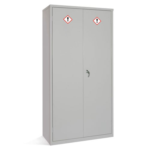 Hazardous Material Janitorial COSHH Cabinet - 1830x915mm