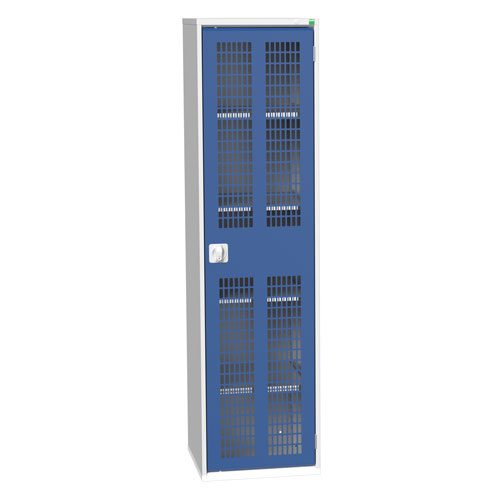 Bott Verso 4 Shelf Ventilated Metal Storage Cupboard HxW 2000x525mm