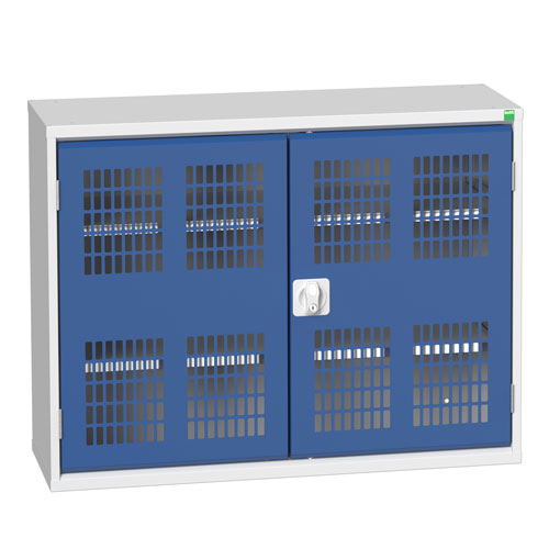 Bott Verso 2 Shelf Ventilated Metal Storage Cupboard WxD 1050x350mm