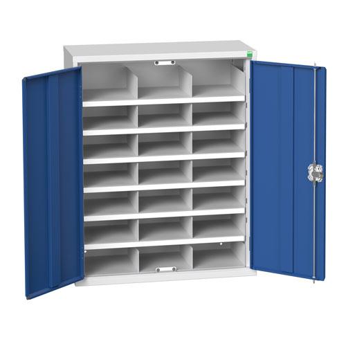 Bott Verso 21 Compartment Metal Storage Cupboard HxW 1000x800mm