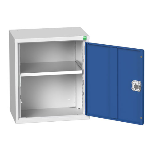 Bott Verso 1 Shelf Wall Mounted Metal Cabinet HxW 600x525mm