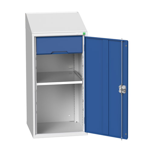 Bott Verso Lectern Metal Cabinet With Shelf And Drawer HxW 1130x525mm