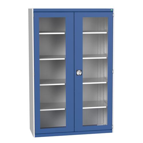 Bott Cubio Metal Cabinet With Vision Doors 2000x1300mm