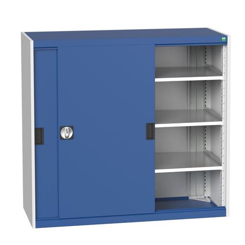 Bott Cubio Sliding Door Metal Storage Cabinet HxW 1200x1300mm