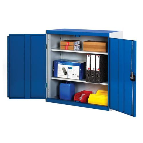 Bott Cubio Metal Storage Cabinet With 2 Shelves 1000x1050mm