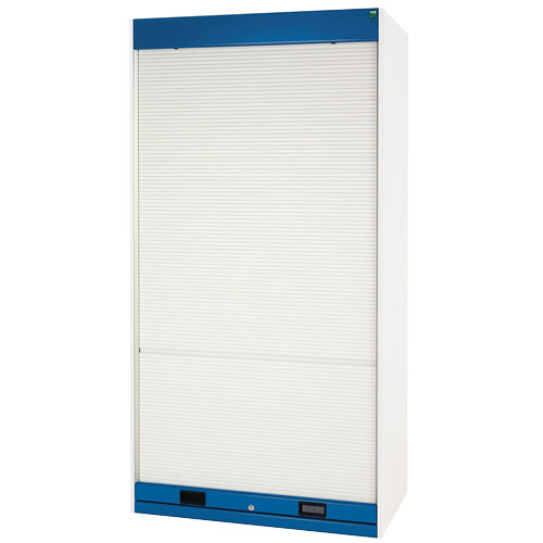 Bott Cubio Roller Shutter Metal Cabinet With 3 Shelves 1200x1050x650mm