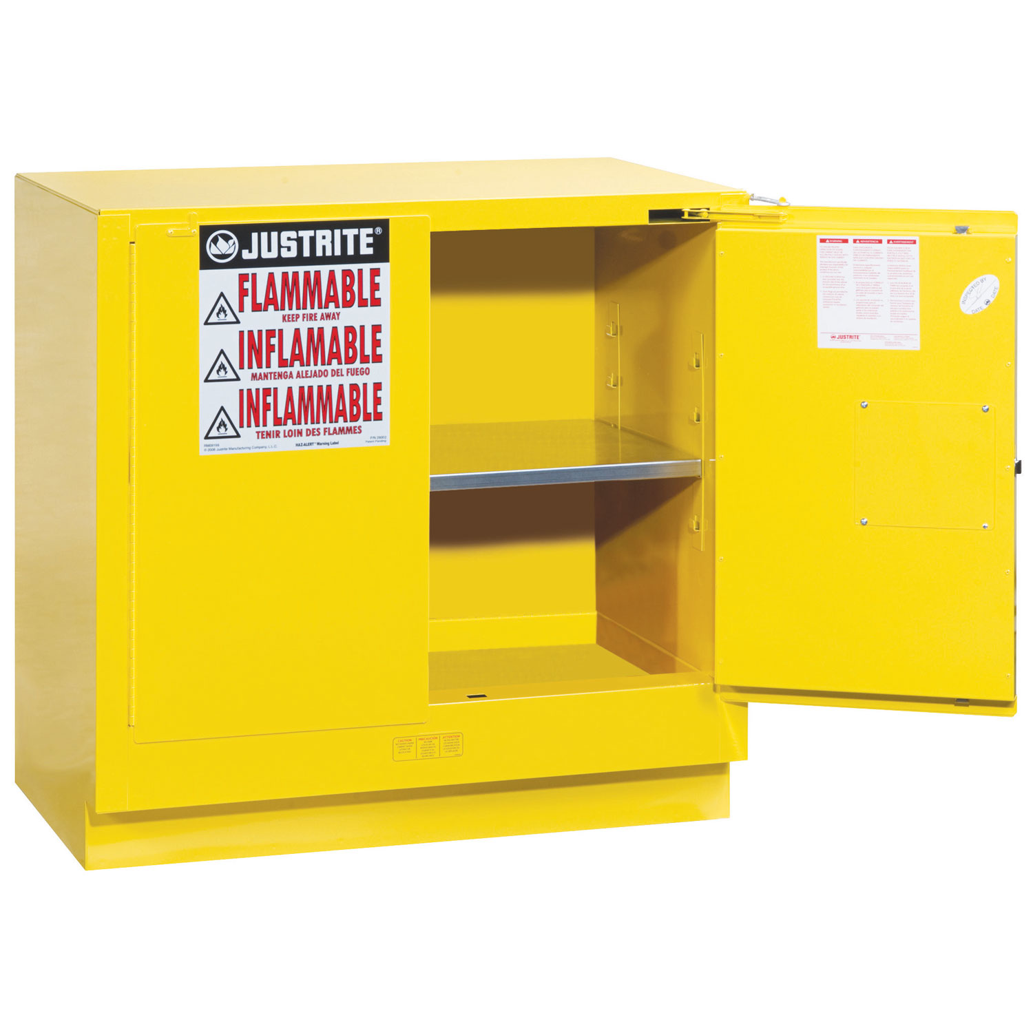 Small Flammable Storage Cabinet 1118x1092x457mm Coshh Cabinet