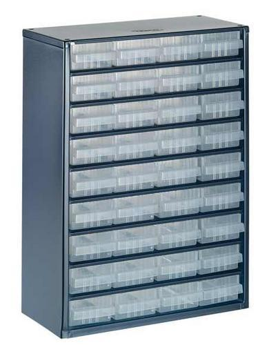 Small Parts Storage 1200 Series Storage Containers Key
