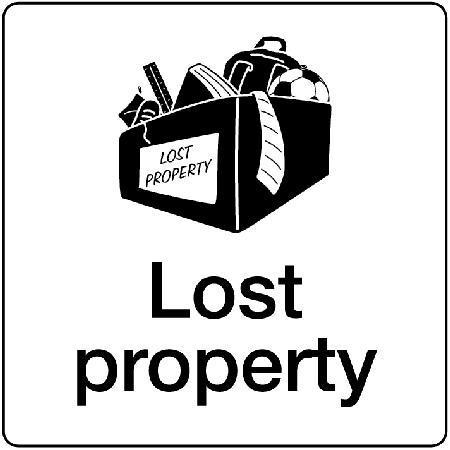 Lost Property Sign Key