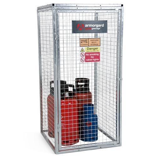 galvanised gas cylinder storage cage - Gas Cylinder Cages