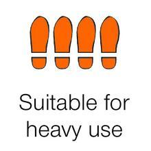 Suitbale for heavy use