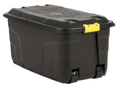 Captivating Strata Storage Box With Wheels 145L
