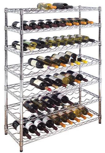 Chrome Wine Racks