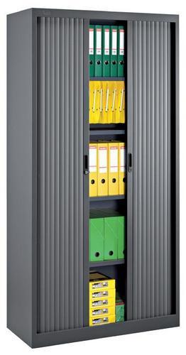 Tambour Door Cupboards - HxWxD 1950x1000x450mm