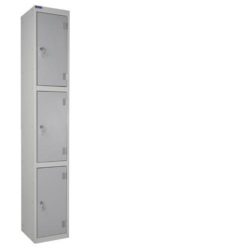 Laminate Door Lockers 3 Door - 1800x300x300mm