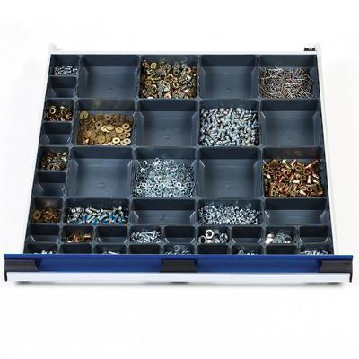 Moulded Plastic Dividers for Drawers 800x750mm