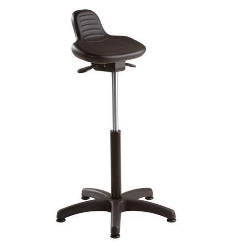 Workshop Stool With Lower Back Support Industrial