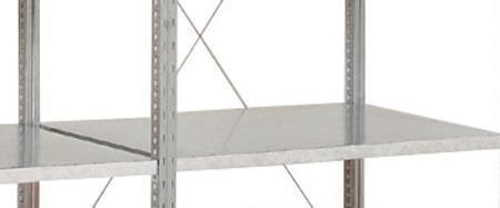 Extra Shelves for Advanced galvanised Shelving