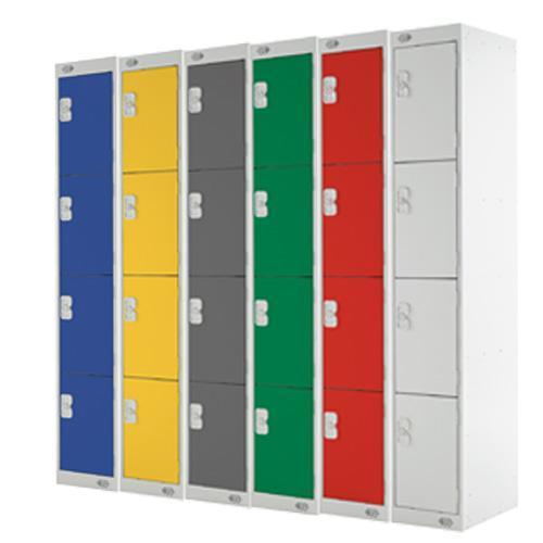 BioCote Lockers 4 Door - 1800x300x300mm