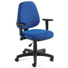 With height adjustable arm rests