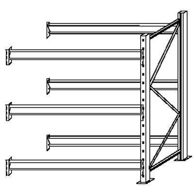 Rapid Pallet Racking - Extension Bay